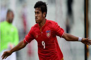 "ASEAN FOOTBALL៖ Aung Thu "" មីយ៉ាន់ម៉ាល្អគ្រប់គ្រាន់ដើម្បីឈ្នះ២ប្រកួតនៅសល់ក្នុង AFC Asian Cup"""