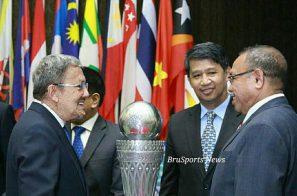 ព្រុយណេសុខចិត្តជ្រើសរើសពូល A ជួបជើងខ្លាំងប្រចាំតំបន់ក្នុងពាន HBT ASEAN Youth Football
