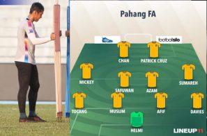 យប់នេះ Pahang FA នឹងត្រូវជួបក្រុមខ្លាំង JDTខណៈវឌ្ឍនាកាលេងតំបន់ប្រយុទ្ធ